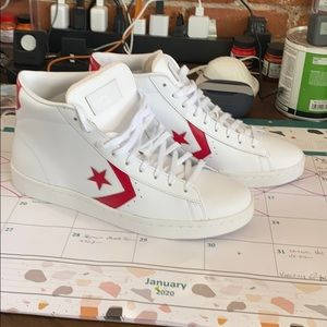 Converse leather all star sneakers